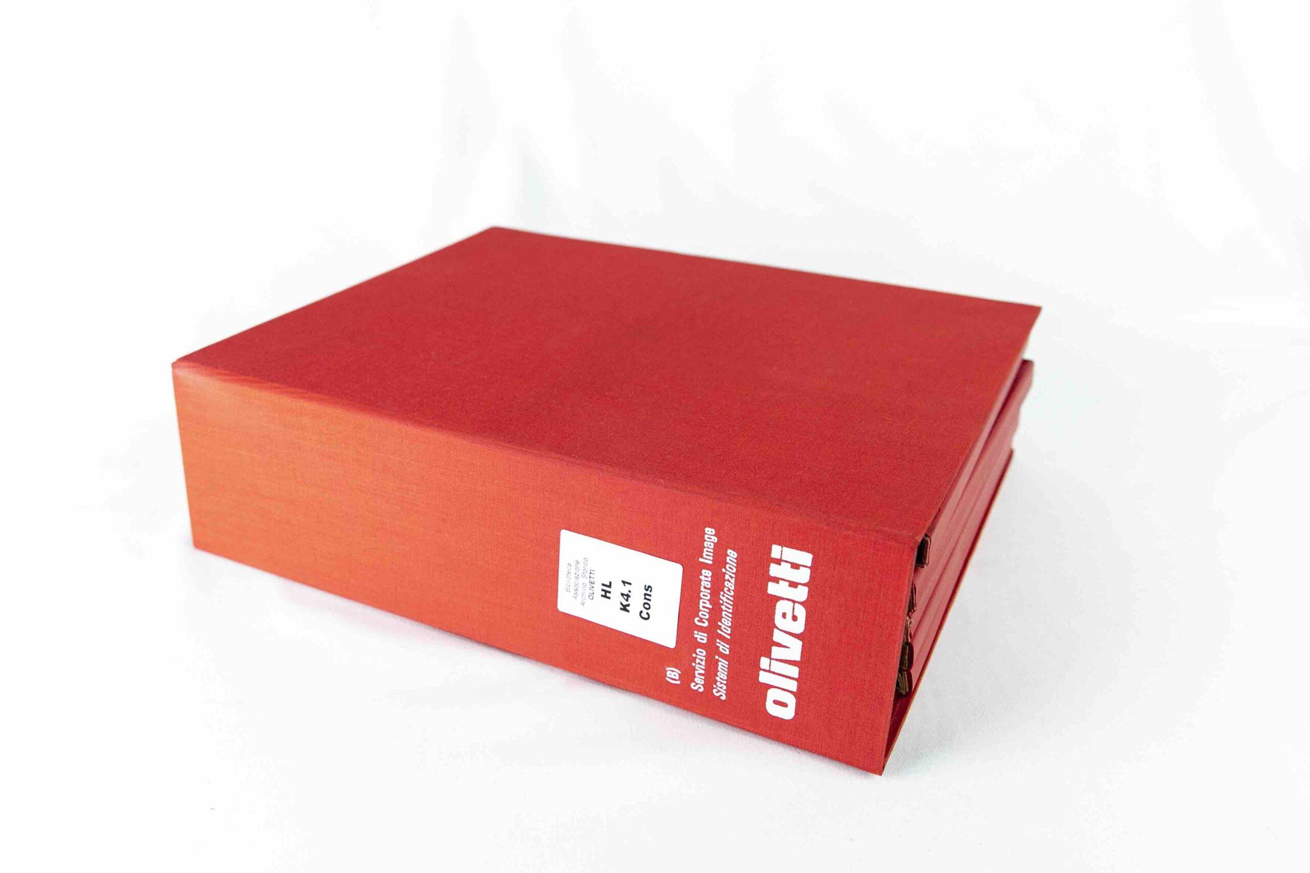 Olivetti Design Contest 2020/2021_AASO Olivetti servizio di corporate image sistemi di identificazione vol A B 1971 Guccione 3618 scaled